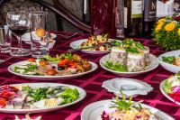 Sēru mielasti Aleksandrs restorāns, Arcada, tirdzniecības centrs
