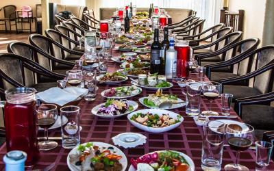 Bēru mielasts Aleksandrs restorāns, Arcada, tirdzniecības centrs