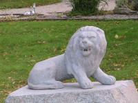 Kapu skulptūras.Lauva