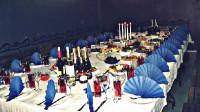 Bēru mielasta galda klāšana