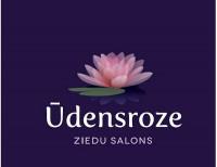 Ūdensroze ziedu salons Logo