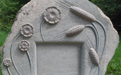 Vārpas un ziedi tapšanas processā