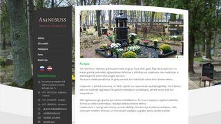 """""""Amnibuss"""" Filiāle, Tirdzniecības laukumā Homepage"""