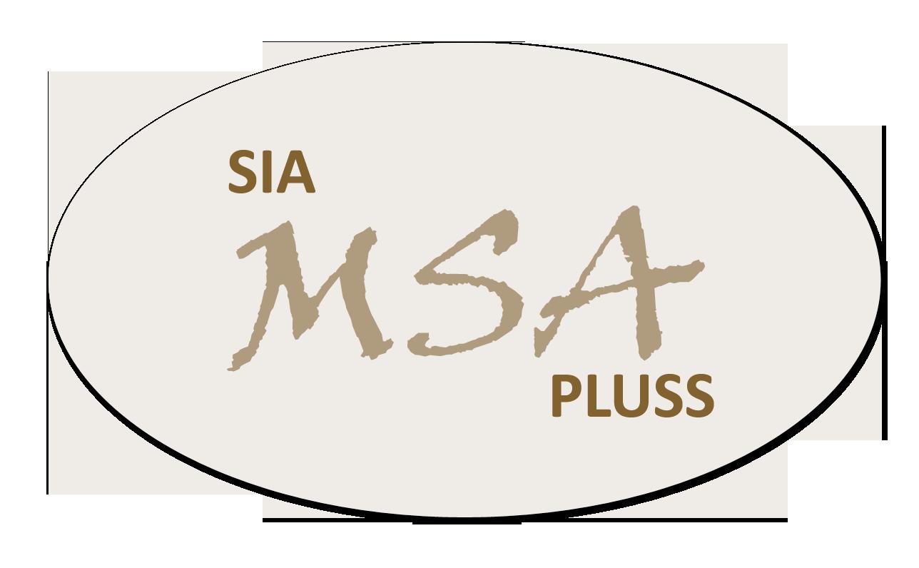 MSA Pluss Логотип