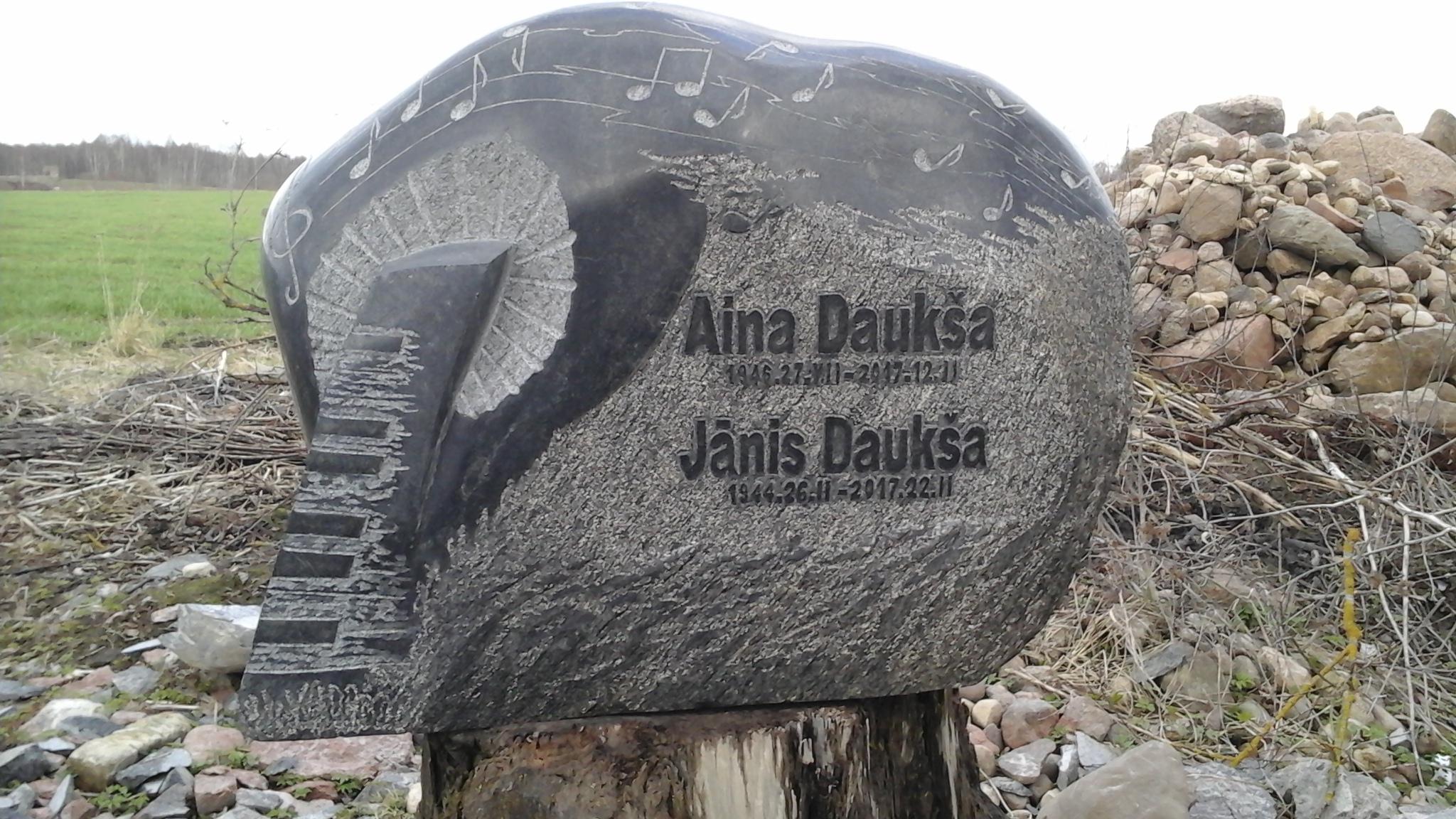 Kapu pieminekļu izgatavošana Tukuma novadā, akmeņkalis Guntis Celitāns Fotogalerija