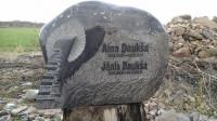 Kapu pieminekļu izgatavošana Tukuma novadā, akmeņkalis Guntis Celitāns