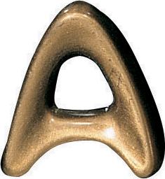 Bronze Mundial letter 4 cm -