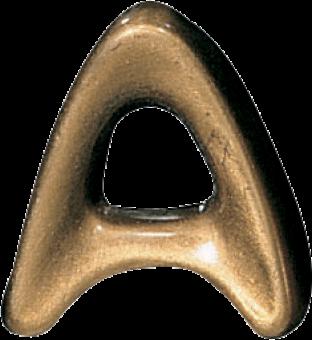 Bronze Mundial letter 4 cm