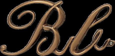 Bronze Corsivo letter 5.5 cm and 3cm 5.5 cm price 13.20 eur 3 cm price 7.80 eur