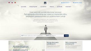 Memorial Services vairumtirdzniecība Главная