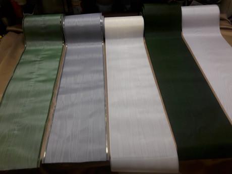 Dažādu krāsu sēru lentas