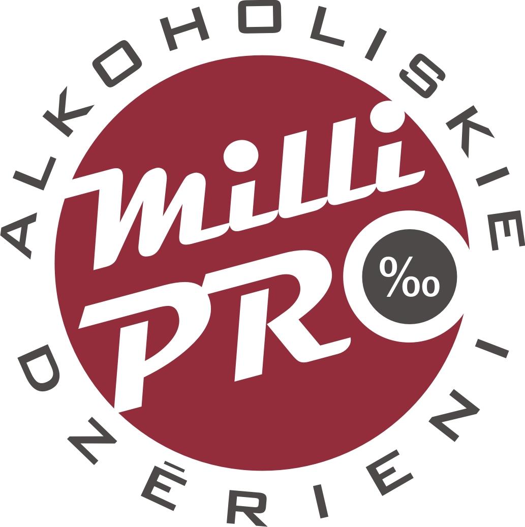 MilliPRO, ziedu bāze,  Viestura prospekta filiāle Rīgā Logo