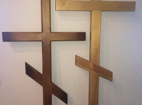 Деревянные кресты (православные)