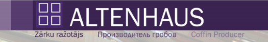 Altenhaus, zārku ražotājs Logo