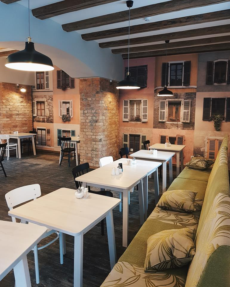 Urban Look, kafejnīca Галерея