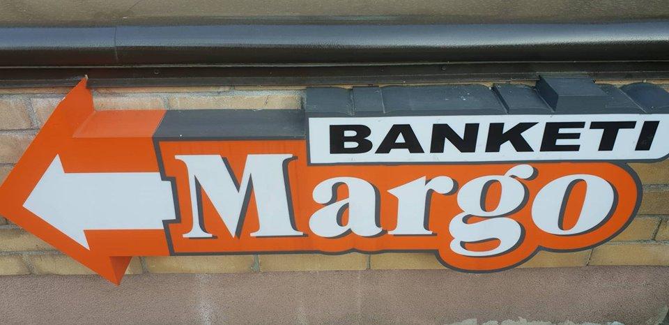 Margo, banketu zāle Logo