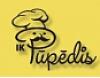 """Kaļķu fabrikas ēdnīca, IK """"Pūpēdis"""" Logo"""