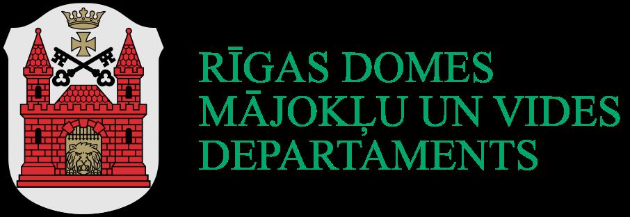 Rīgas domes Mājokļu un vides departamenta Kapsētu pārvalde Logo