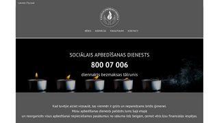 Sociālais Apbedīšanas Dienests, Bolderaja Homepage