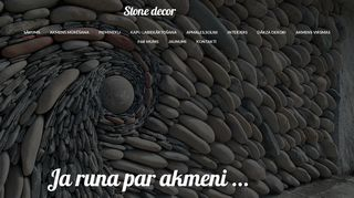 Stone Decor SIA Homepage