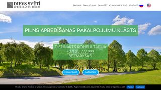 Rīgas kapi SIA Homepage