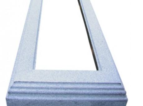 Kapu rāmītis no betona