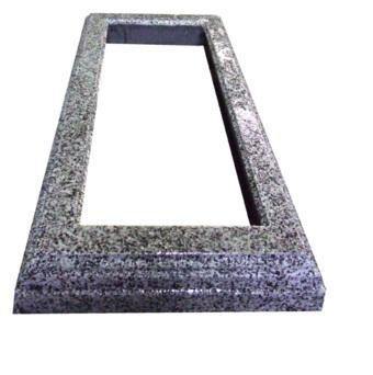 Kapu apmale no betona -