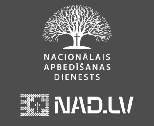 NAD.LV, Apbedīšanas un Repatriācijas aģentūra Логотип