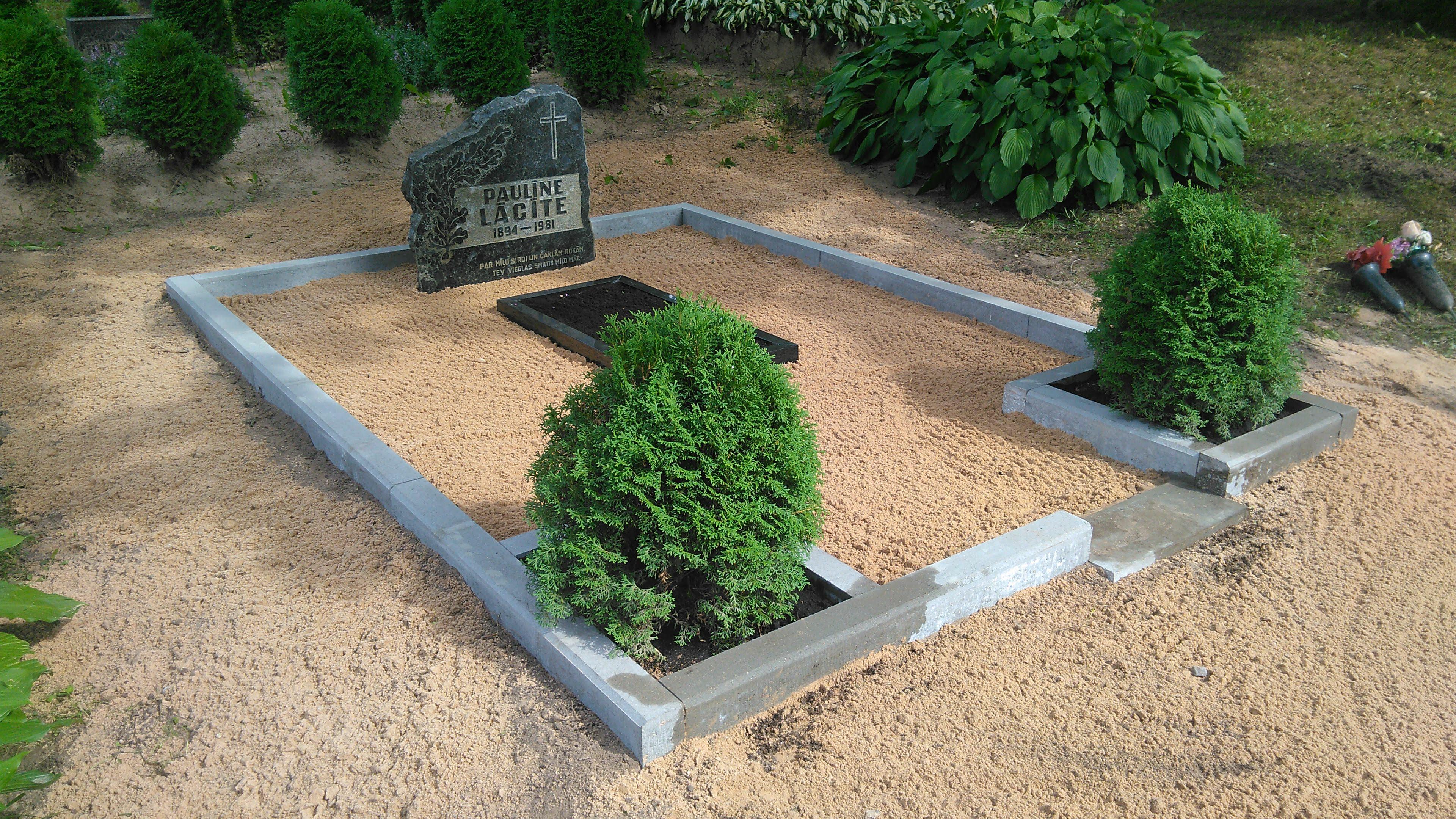 Kapu labiekārtošana Veckalsnavas kapos