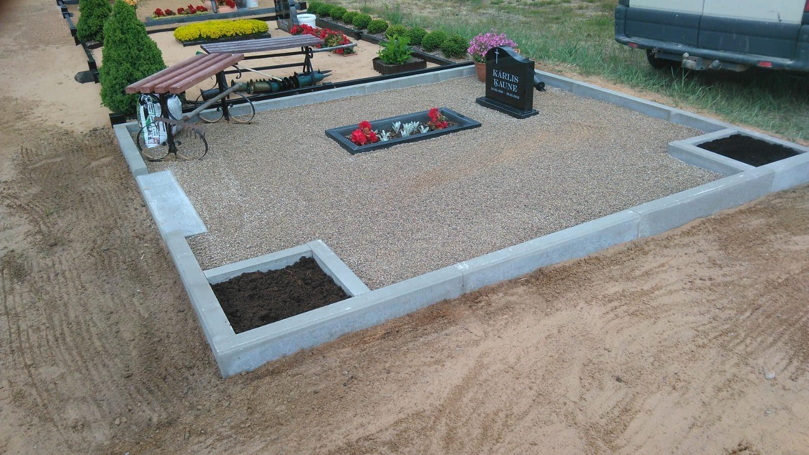 kapa vietas labiekārtošana Lubānā
