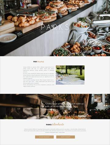 Grilbārs & restorāns Parks Mājaslapa