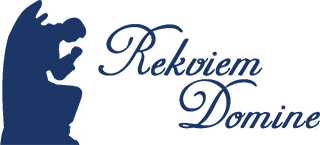 Apbedīšanas birojs Rekviem Domine Logo