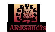 Aleksandrs restorāns, Arcada, tirdzniecības centrs Logo