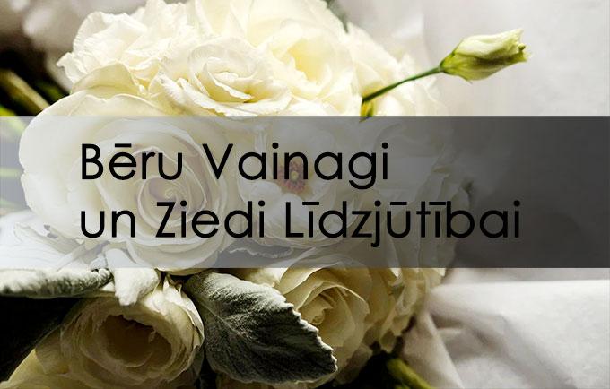 Pasūtīt online sēru ziedus un bēru vainagus ar piegādi