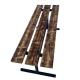 Kapu Soliņi - ar metāla kājām Ar lineļļu lakots kapu soliņš ar metāla kvadrātcauruļu kājām (pārliekams)