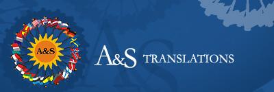 A&S SIA tulkošanas birojs Logo