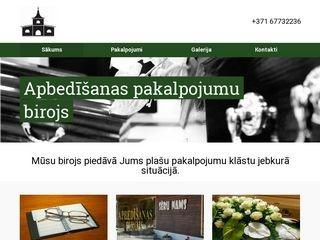 SĒRU NAMS, Černovs & CO SIA webpage