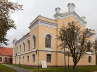 Sinagogas ēku komplekss Logo
