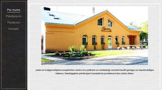 Mieriņš SIA kafejnīca webpage