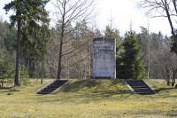 Piemineklis kritušajiem 6. Rīgas kājnieku pulka karavīriem