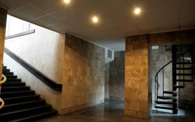 Krematorija telpas Rīgas Kremācijas centrā - krematorijā