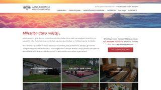 Arņa Krūmiņa apbedīšanas birojs Mājaslapa
