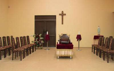 Apbedīšanas nams, Atvadu zāle Rīgā