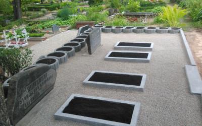 kapa vietas labiekārtošana Grostonas kapos