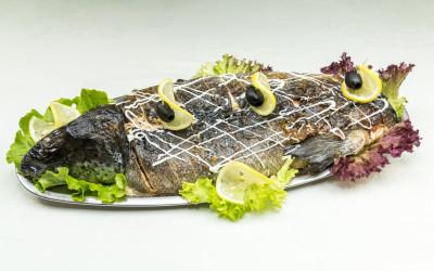Pildītas zivis.