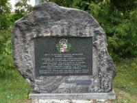 Skrundas kaujas piemiņas akmens Logo