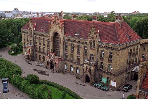 Rīgas 1. slimnīca. Morgs Logo
