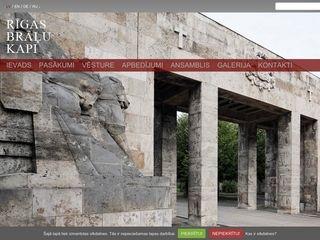 Rīgas Brāļu kapi Mājaslapa