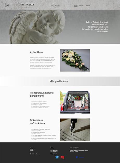 VK Vita webpage