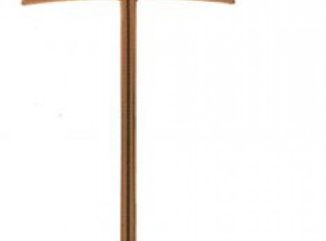 Simple bronze cross
